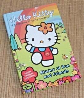Hello Kitty A Collection of Early Readers Hard Cover Book Level 1 & 2 Includes 7 Books Fun & Fri...