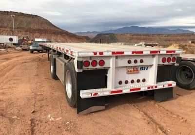 2005 East 48ft-Flatbed-Trailer