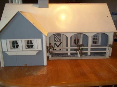 Vintage Hand Made Doll House