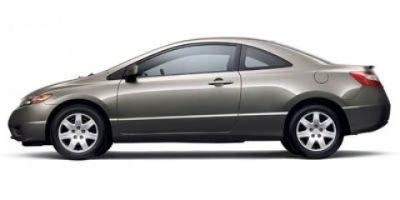 2007 Honda Civic LX (Alabaster Silver Metallic)