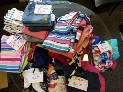 Size 10 Girl's Clothes