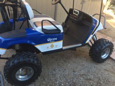 EZ-GO Custom lifted Golf Cart