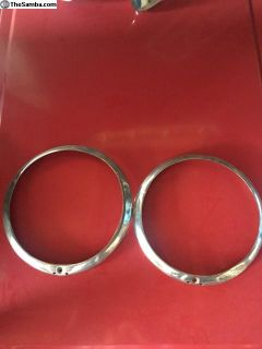 Later Headlight Outer Rings