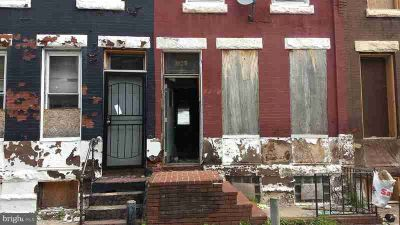 3139 Fontain St PHILADELPHIA Three BR, Brick townhome in need of