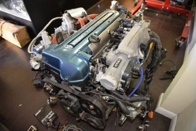 Toyota Supra HKS Twin Turbo 6 Speed VVTI Engine 2JZGTE JZA80 Fcon VPro Sard ORC