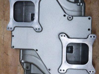 Edelbrock STR-12 Small Block Mopar Dual Quad Intake Manifold