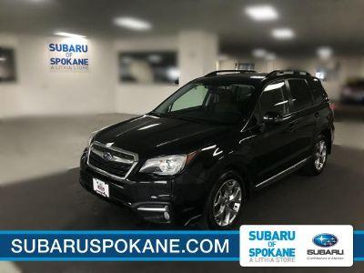 2018 Subaru Forester 2.5i Touring (Crystal Black Silica)