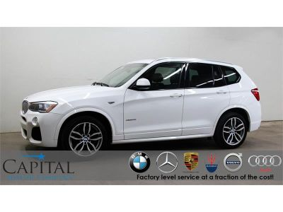 2016 BMW X3 xDrive35i Turbo M-Sport (White)