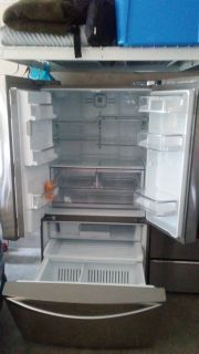 Maytag Electric Stove & Kenmore Elite Refrigerator