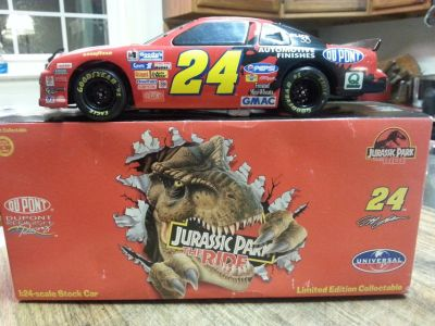 "1997 Jeff Gordon ""Elite"" Jurassic Park Car"