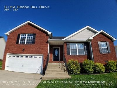 Brick Front Home in Monroe Estates
