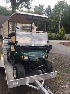 2015 E-Z-Go Shuttle 2 + 2 TXT Electric Golf Golf Carts Exeter, RI