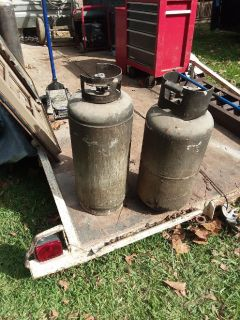 20-25 gallon propane tanks