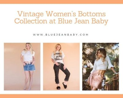 Vintage Bottoms Online for Women | Frisco Texas