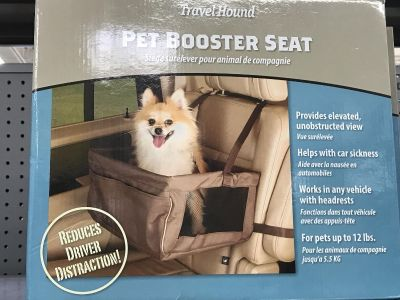 Doggie booster seat