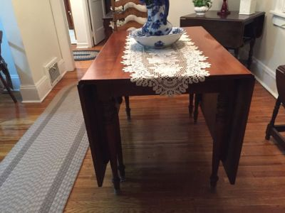 Harden Cherry drop leaf table