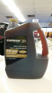 Find EVINRUDE XD100 OUTBOARD MOTOR OIL 1 GALLON motorcycle in Port Charlotte, Florida, United States, for US $47.99