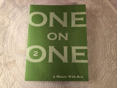 Ben Haden - One on One - A Minute With Ben. Paperback