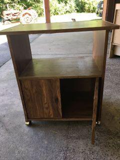 Microwave stand $15