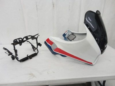 Find 1984 Honda VF1000F Interceptor Front Fairing Cowling & Main Stay Bracket 3165 motorcycle in Kittanning, Pennsylvania, US, for US $149.99