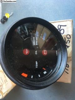 Porsche 911 SC Oil Pressure / Temperature Gauge