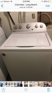 Whirlpool Washer & Dryer 1 yr old