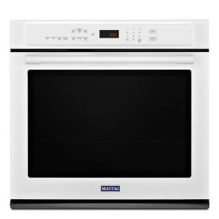 "Maytag 30"" Single White Wall Oven MEW9530FW - NEW"