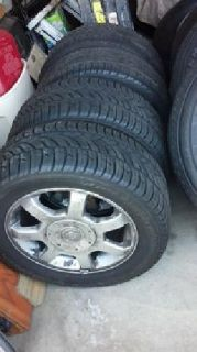 $400 OBO Cadillac Tires and rims