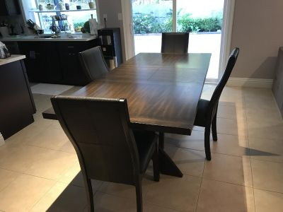 Costco wood dining table