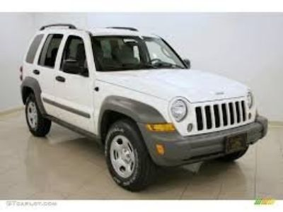 2005 Jeep Liberty Limited (White)