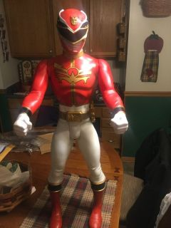 Red 32 inch Power Ranger large cool looking super hero