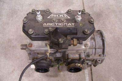 Purchase ARCTIC CAT SNOWMOBILE 1999 ZR 500 EFI SHORT BLOCK ENGINE 0662-246 motorcycle in Kaukauna, Wisconsin, United States, for US $1,000.00