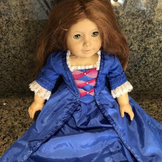 Retired Felicity American Girl Doll with Holiday Dress