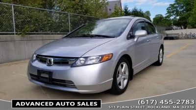 2008 Honda Civic EX (Alabaster Silver Metallic)