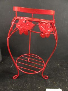 """8 x 16""""tall metal double plant stand"""