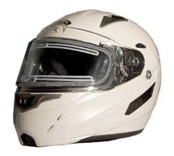 Buy ZOX GENESSIS RN2 SVS PEARL WHITE LG HELMET W/ELECTRIC SHIELD 86-56324 motorcycle in Ellington, Connecticut, US, for US $289.95
