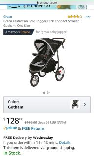 NEW graco click connect double stroller ad graco jogging stroller