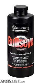 For Sale: Bullseye powder 1#