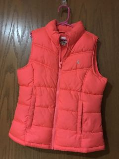 Girls old navy puffer vest