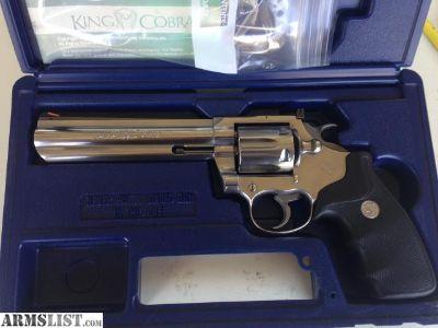 For Sale: Colt kingcobra 6 inch