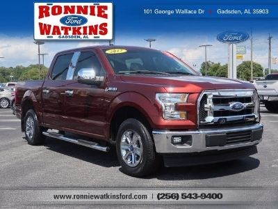 2017 Ford F-150 (red)