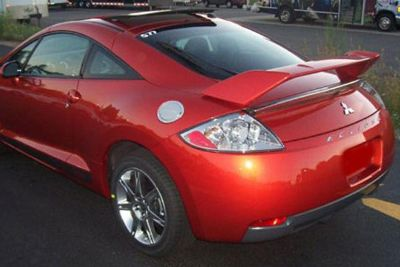 Find Pure FG-136 - 06-13 Mitsubishi Eclipse Factory Style Rear Spoiler Fiberglass motorcycle in Grand Prairie, Texas, US, for US $194.95