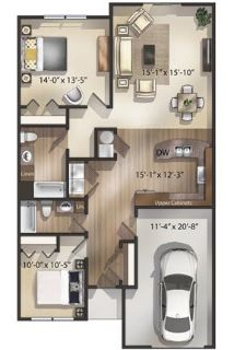 Avalon Townhomes - luxurious 2 Bedroom Townhomes