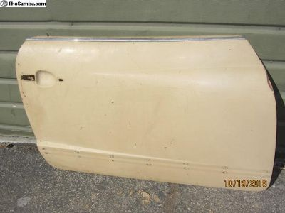 original paint right side ghia door shell