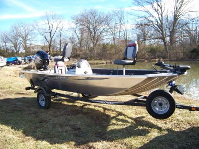2019 Lowe STRYKER 17 W/ MERCURY 40 4S & TRAILER Boat West Plains, MO
