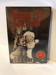 Miracle on 34th Street DVD Christmas Movie