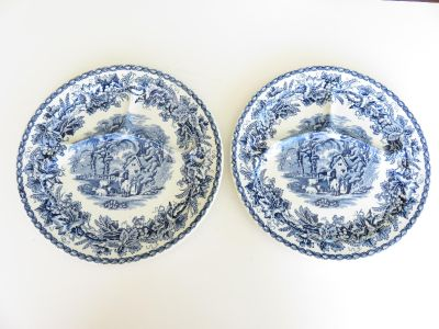 Booths British Scenery Plates