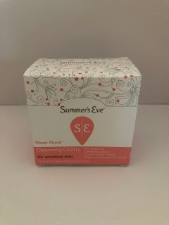 Summer s Eve Cleansing Cloths Sheer Floral - 1 of 2
