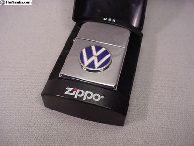 Chrome Z Lighter with VW logo Free Ship