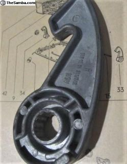 Seat Right/Front Outer/Inner Locking Hook:NOS